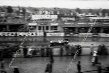 Jaguar D Type. Mike Hawthorn At Speed Le Mans 1955 (1st) (a)